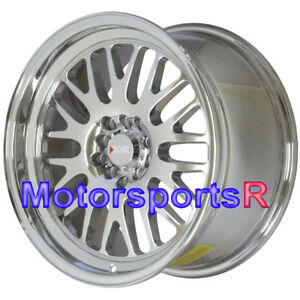 17x9 Xxr 531 Platinum Chrome Wheels Rims 5x4 5 Stance 02 04 06 Acura Rsx Type S