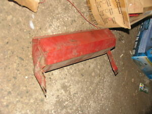 International Ih Farmall Tractor Tool Box 706 806 1206 1066 1086 986