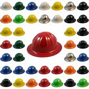 Skull Bucket Brand Hard Hat Aluminum Safety Hat With Ratchet Suspension