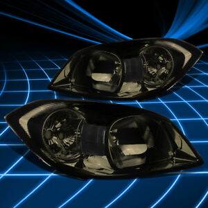 Fit 2005 2010 Chevy Cobalt G5 Smoked Housing Clear Lens Corner Signal Headlights