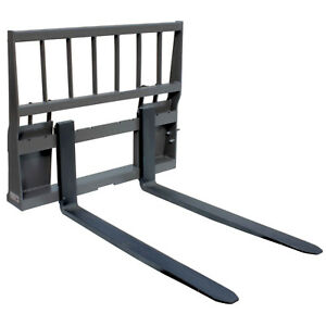 Ua Made In The Usa Hd Skid Steer Pallet Fork Attachment With 48 Blades