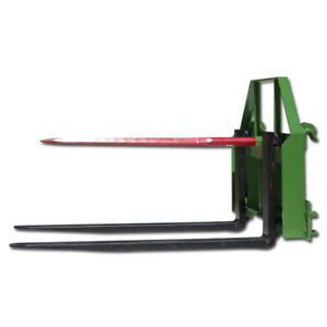 Titan 48 Pallet Fork Fits John Deere Hay Bale Spear Attachment Forklift Front