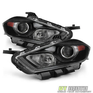 2013 2016 Dodge Dart Headlights Headlamp Left right Xenon Hid Fit Only 13 16