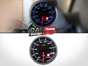 Race Tech 52mm Steppermotor Fuel Pressure Gauge Psi bar