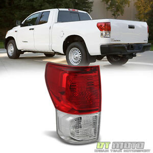 For 2010 2013 Toyota Tundra Tail Lights Lamps 10 13 Driver Left Side Taillight