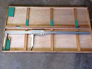 Nice Mitutoyo No 160 Vernier 30 Carbide Tipped Caliper 001 Box