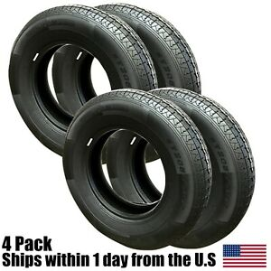 4 New 20575r15 6 Ply Trailer Tires 75r15 R15 75r 205 75 15