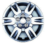 05 06 Fits Nissan Altima 16 Hub Cap New Silver 6 Spoke Wheel Covers Set Of Four