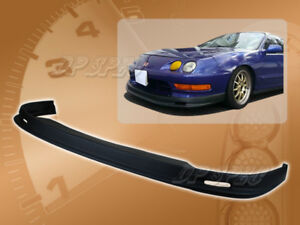 For 98 01 Acura Integra T M Front Bumper Lip Body Kit Spoiler Polyurethane Pu