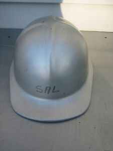 Vintage Welsh Vanguard Aluminum Hard Hat