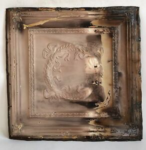 24 X 24 1890 S Antique Ceiling Tin Tile See Our Salvage Videos Browns C64a