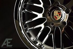 20 Inch Porsche 911 996 997 Carrera S C2s C4 C4s Turbo Wheels Rims Lemans Chrome