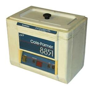 Cole parmer 8851 20 Ultrasonic Cleaner Sold As Is