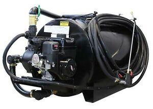 Asphalt Sealcoating Sprayer 130 Gallons 6 5 Hp Cast Iron Pump Commercial