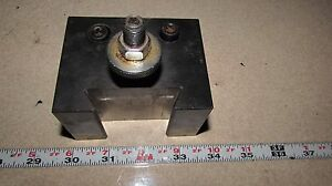 250 304 Phase Ii 2 Quick Change Tool Block 1 Bore