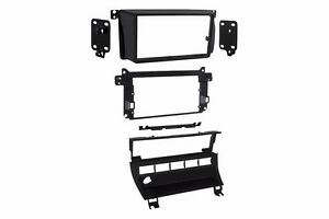 Double 2 Din Car Stereo Radio Dash Install Mounting Kit Installation Mount Trim