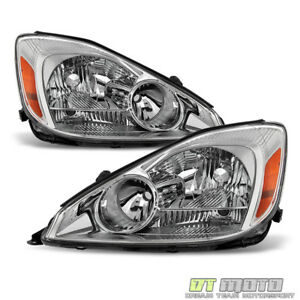 For 2004 2005 Toyota Sienna Headlights Headlamps Left Right 04 05 Halogen Lights