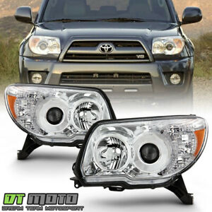 For 2006 2009 Toyota 4runner 4 Runner Projector Headlights Headlamps Left right
