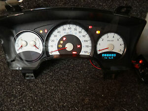 cl832 09 10 11 Dodge Dakota Speedometer Cluster 50k