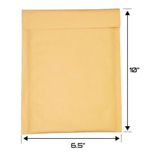 250 0 6 5x10 Kraft Bubble Mailers Envelopes Padded Bags