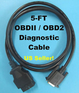 New Autel Maxidas Ds708 Ds808 Obd2 Obdii Main Test Data All In One Scanner Cable