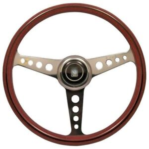 Nardi Classic 360mm Anni 60 Wood Steering Wheel W Polish Spokes 5061 36 3200