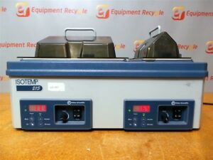 Fisher Scientific Isotemp Double Laboratory Bath 215 Digital Dual Free Shipping