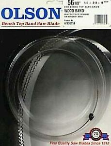 New Olson Band Saw Blades For Bench Top Saws Wb55356bl 1 Ct Delta Pro Tech