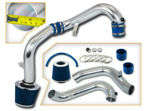 Blue Dry Filter Cold Air Intake For Honda 01 05 Civic Dx lx ex 1 7l Manual Only