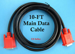 10ft New Compatible Main Data Cable Snap on Mt2500 Solus Modis Solus Pro Scanner