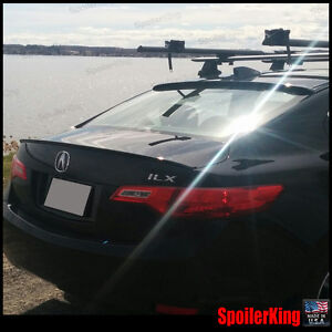 Combo Rear Roof Wing Trunk Lip Spoiler Fits Acura Ilx 2013 Present