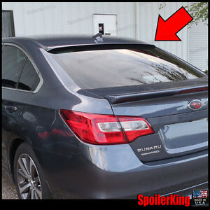 Rear Roof Spoiler Window Wing fits Subaru Legacy 2015 2019 Spoilerking