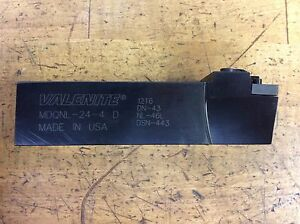 Valenite Indexable Insert Toolholder Mdqnl 24 4 D Made In Usa