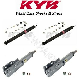 Front And Rear Suspension Strut Assembly Shock Absorber Kyb 236001 And 343211