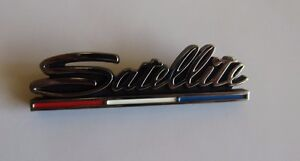 Mopar 68 Satellite Rear Panel Emblem