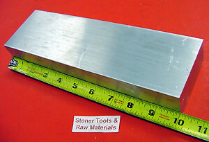 1 1 2 X 3 1 2 Aluminum 6061 Flat Bar Solid 10 Long New Extruded Mill Stock