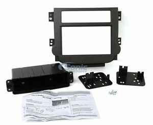 Metra 95 3314g Double Din Dash Kit For Select 2013 Up Chevy Malibu Vehicles