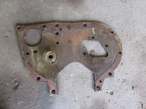 International 574 Tractor C200 Gas Engine Front Plate