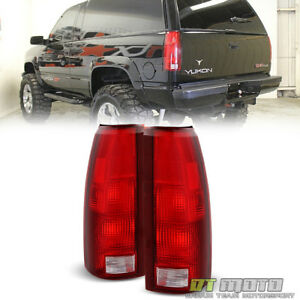1988 1998 Chevy C10 Silverado Suburban Tahoe Yukon Blazer Tail Lights Left Right