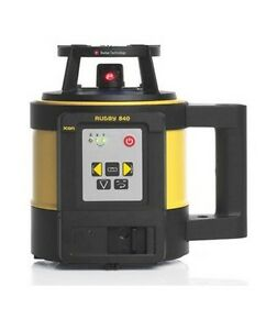 Leica Rugby 840 Rotary Laser Level With Alkaline Battery Pack 6006023