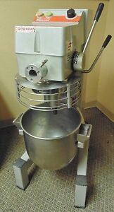 Mixer 30 Qt Ditodean Em30 Dough Mixer 115v Commercial With Bowl 1phase
