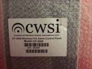 New Cwsi Cp 3000 Wireless Commercial Fire Alarm System 2 New Available