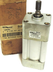 New Rexroth bosch Tm 821000 03014 Cylinder Square 2in Bore 1 1 2in Stroke 200psi