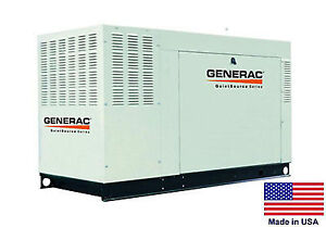 Standby Generator Generac 60 Kw 120 240v 1 Ph Nat Gas Propane Fired