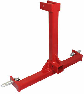 Category 1 Drawbar Tractor Trailer Hitch Receiver 3 Point Attachment