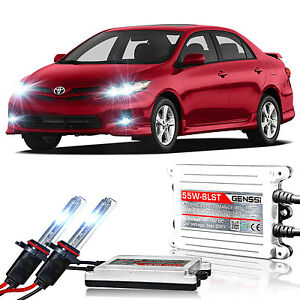 Genssi Hid Xenon Conversion Kit Bulbs 55w X Treme For Toyota Corolla 2009 2012
