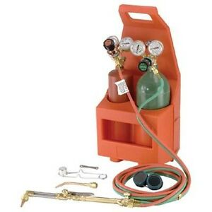 Welding Soldering Portable Outfit Brazing Torch Oxygen Cylinder More