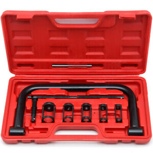 Solid Valve Spring Compressor C Clamp Service Kit Auto Motorcycle Atv Engine Hd