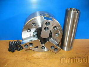 Tonfau Hardinge Tf3x 06 Power Chuck 6 7 8 3 Jaw 6000 Rpm Cnc Lathe Open Center