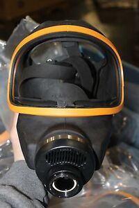 New Large Msa Optimair 6a Respirator Mask Nice